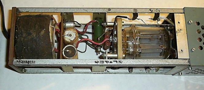 R2, панель и лампа ГУ-29.